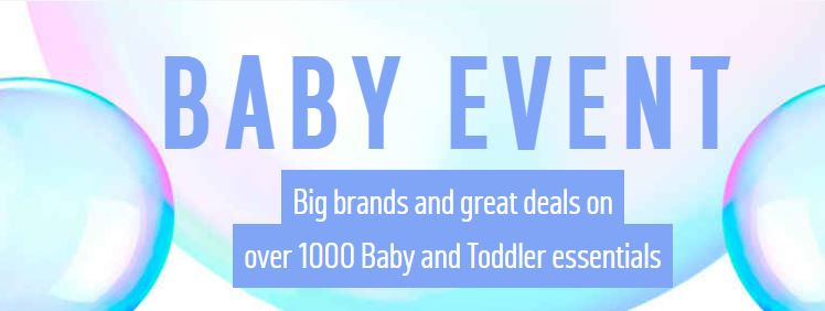 MASSIVE Baby Event NOW ON at Argos