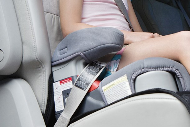 Are backless booster seats illegal?