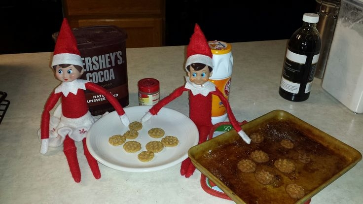 Is your Elf on the Shelf Naughty or Nice this year? Some fun Ideas for you......