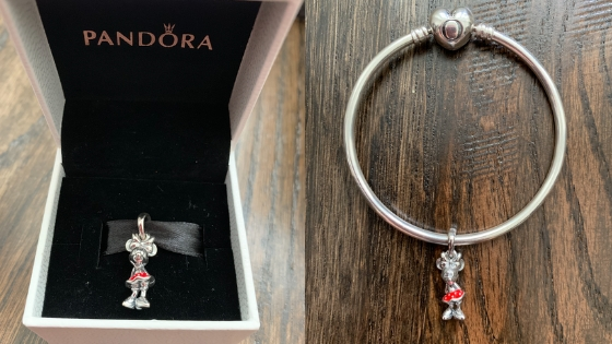Jewellery for the kids - Disney Minnie Mouse Charm from Pandora