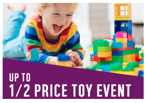 Forget 3 for 2 - Argos LAUNCH HUGE Half Price Toy SALE
