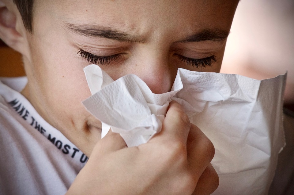 Helping children to deal with allergies