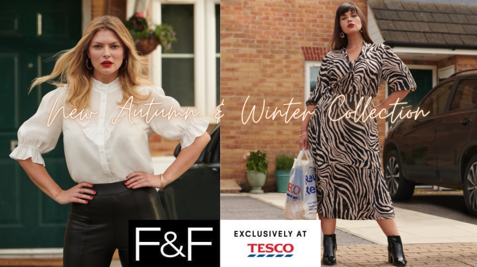 Tesco Launch Great Value F&F Autumn and Winter Clothing Line