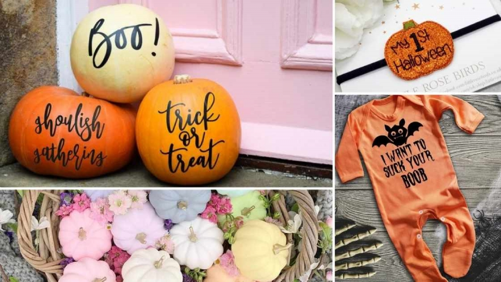 Classy Halloween Decor and Cute Costumes