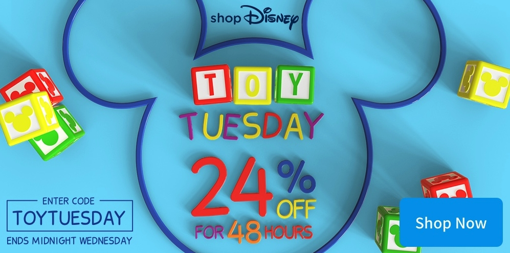 Toy Tuesday is BACK with 24% OFF - 48 Hours 3/11 and 4/11
