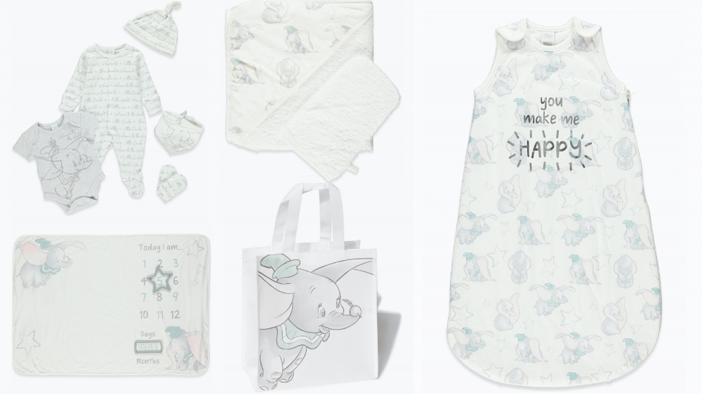 Have you seen the Dumbo Baby range at Matalan?