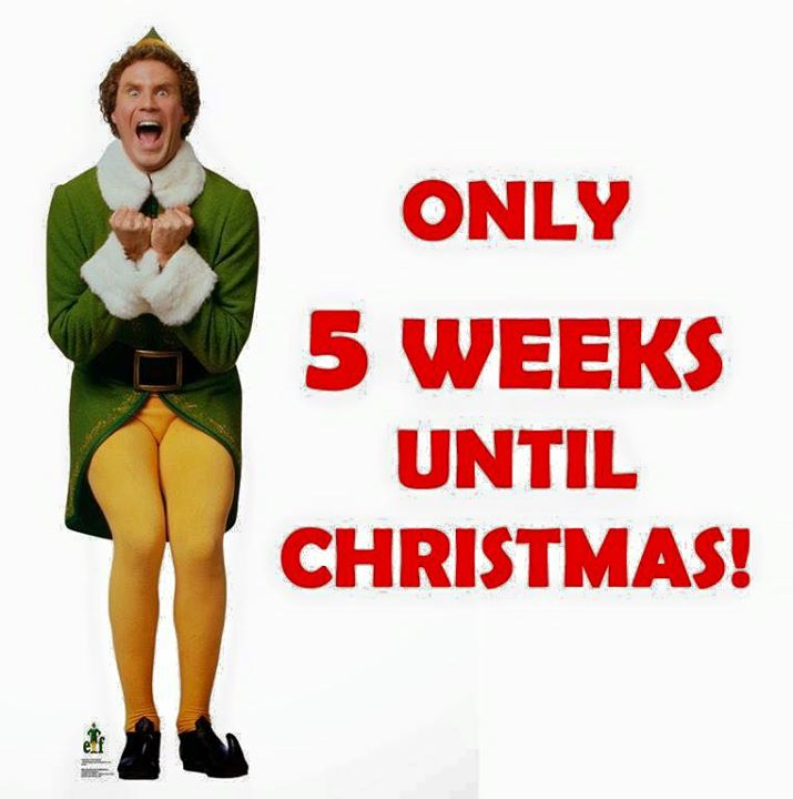 only 5 weeks until christmas - Weeks Until Christmas