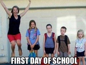 FIRST DAY OF SCHOOL - ProudMummy com the Web's Community for Mums